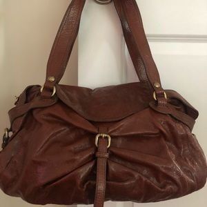 Brown leather purse!